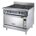 """Vulcan V6B36S 36"""" 6 Burner Gas Range w/ Standard Oven, LP"""