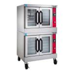 Vulcan VC44ED Double Full Size Electric Convection Oven - 208v/1ph