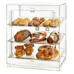 """Rosseto BD126 Bakery Cabinet w/ (4) Doors, 20.25"""" x 15.5"""" x 21.25"""", Clear Acrylic"""