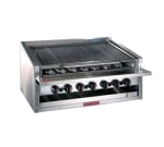 "Magikitch'n APM-RMB-648 48"" Radiant Charbroiler w/ Round Rod Top Grate, LP"