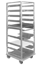 "FWE OTRUA13 26.88""W 13 Sheet Pan Rack w/ 1.5"" Bottom Load Slides"