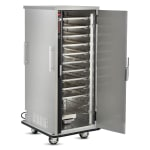 FWE TS-1826-18 Full Height Mobile Heated Cabinet w/ (12) Pan Capacity, 120v