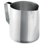Tablecraft 2036 32 36 oz Stainless Steel Frothing Cup, Mirror Finished