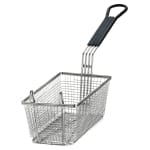 "Tablecraft 426 Fryer Basket w/ Coated Handle & Front Hook, 11"" x 5.375"" x 4"""
