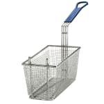 "Tablecraft 428 Fryer Basket w/ Coated Handle & Front Hook, 13.25"" x 5.75"" x 5.25"""