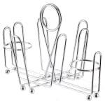 "Tablecraft 591C Chrome Plated Combination Rack, Fits 1-5/8"" Salt/Pepper Shakers"