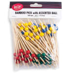 Tablecraft BAMBA45 4.5 BAmboo Assorted Pick