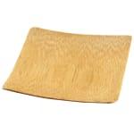 "Tablecraft BAMDSBAM2 2.5"" Round Disposable Dish - Bamboo"