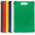 "Tablecraft CBG1218APK6 Cutting Board Kit w/ Anti-Slip Grips, (6) 12"" x 18"" Boards, Polyethylene"