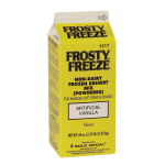 Gold Medal 1217 Non-Dairy Dry Frosty Freeze Soft Serve Mix - Vanilla