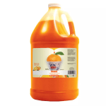 Gold Medal 1228S Sno Treat Flavor, Sweetened w/ Saccharin, Orange, (4) 1 Gallon Per Case