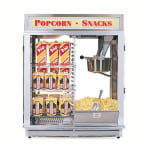Gold Medal 1617E 120240 Astro 16 Popcorn Machine w/ Reversible Illuminated Sign, 120/240V