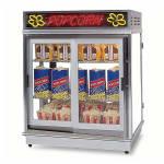 Gold Medal 2004SLD Astro Pop Staging Cabinet w/ Swing & Sliding Doors & 3-Shelf Warmer