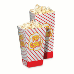 Gold Medal 2060 1.25 oz Medium Scoop Disposable Popcorn Boxes, 500/Case