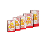 Gold Medal 2063 1 to 1.75 oz Disposable Popcorn Boxes, 500/Case