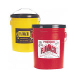 Gold Medal 2099 45 lb Original Flavacol Seasoning Salt Pail