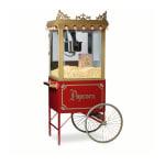 Gold Medal 2119 Antique Citation Popcorn Machine w/ 16 oz Kettle & Gold Dome, 120v