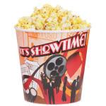 Gold Medal 2133T 44-oz Showtime Design Disposable Popcorn Butter Cups, 600/Case