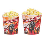 Gold Medal 2134T 85 oz Showtime Design Disposable Popcorn Butter Cups, 300/Case