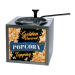 Gold Medal 2195 Buttery Topping Dispenser w/ 133 oz Capacity & Push Top Adjustable Pump, 120v