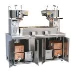 Gold Medal 2233E 120208 48-oz Twin Maxi Plant Popcorn Popper w/ 3-min Popping Cycles, 120/208V