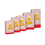 Gold Medal 2266 1.25 oz Disposable Popcorn Boxes, 500/Case