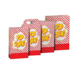 Gold Medal 2269 5.5 to 6 oz Disposable Popcorn Boxes, 250/Case