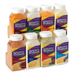 Gold Medal 2384S Shake-On Ranch Flavor w/ (4) 18 oz Jars
