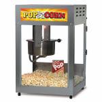 Gold Medal 2552-00-001 Popcorn Machine, 12/14-oz EZ Kleen Kettle, Stainless Cabinet, 120v