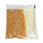 Gold Medal 2645 Mega Pop Glaze Popcorn Kit for 6 oz Kettles w/ Corn & Oil