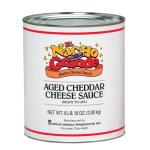 Gold Medal 5251 El Nacho Grande Aged Cheddar Cheese Sauce, (6) #10 Tins