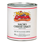 Gold Medal 5253 One-Step Cheese Sauce for Nachos w/ (6) #10 Cans