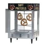 """Gold Medal 5550PR 23"""" Countertop Pretzel Merchandiser w/ 70-Jumbo Capacity & 1-Door"""