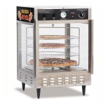 "Gold Medal 5550PZ 23"" Countertop Merchandiser w/ (4) 18"" Pizza Capacity & 1-Door"