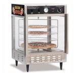 Gold Medal 5550PZD 23-in Countertop Merchandiser w/ (4) 18-in Pizza Capacity & 2-Pass Thru Doors
