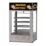 """Gold Medal 5551PZL 18"""" Countertop Merchandiser w/ (4) 16"""" Pizza Capacity & 1-Door"""