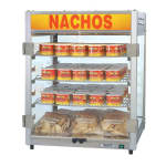 "Gold Medal 5581-00-100 18.5"" Deluxe Portion Pak Merchandiser w/ 96 Cup Capacity & 3 Shelves, 120v"
