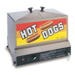 Gold Medal 8007 Hot Dog Steamer w/ (80) Hot Dogs & (40) Bun Capacity, 120v
