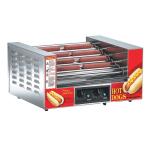 Gold Medal 8024SL 27 Hot Dog Roller Grill - Slanted Top, 120v