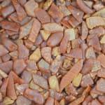 Gold Medal 8100 80 lb Bacon Puff Pellets for Pork Rinds, Cracklins & Bacon Chips