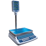 Skyfood CK-P30PLUS 30-lb Price Computing Scale - Pole Display, 120v