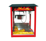 """Skyfood PC-8 8-oz Popcorn Machine - 16.5x30x22"""", Removable Kettle, Stainless Steel"""