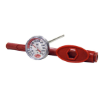 "Cooper 124602 Pocket Test Thermometer, 1""Dial Type, 5"" Stem, 0 220 F, NSF"