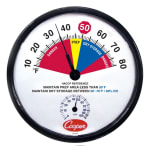 Cooper 212-158-8 Prep Area Dry Storage Thermometer, 10 To 80 Degrees F