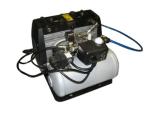 DoughXpress SILENT COMPRESSR Oil-Less Quiet Air Compressor w/ Auto Drain & Reservoir, 120 V