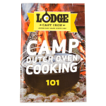 Lodge CB101 Camp Dutch Oven Cooking 101 Cookbook w/ 64-Pages