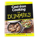 Lodge CBCID Cast Iron Cooking for Dummies Cookbook w/ 150 Recipes