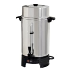Focus FCMLA100 100 cup Coffee Maker w/ Brew-View Gauge - Aluminum, 120v