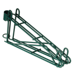 "Focus FPMB24DGN 24"" Wire Wall Mounted Shelving Brackets"