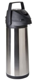 Focus KPW9325LV 2.5-L Lever Action Airpot w/ Brew Thru, Stainless Vacuum Insulated